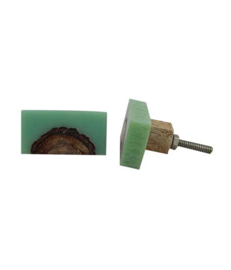 Timber Door Knobs by Buy Indianshefl Wooden Door Knob Pack Of 4 At Low