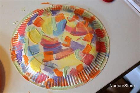 Easter Baskets With Paper Plates - paper plate easter basket craft nurturestore