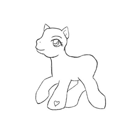 my pony template my pony template by quarender on deviantart