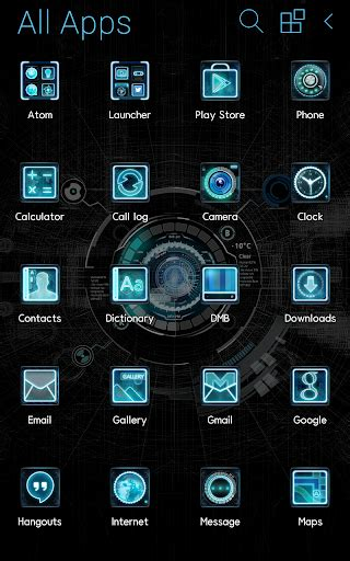 gallery themes for android download black mechanic atom theme google play softwares