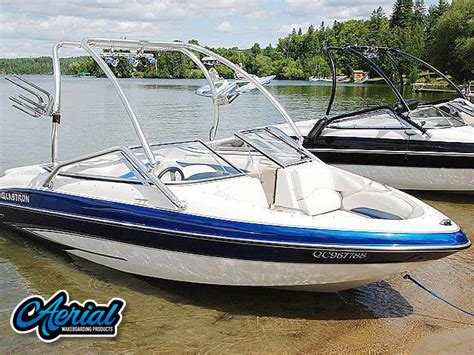 glastron boat speakers 2007 glastron gxl185 boat wakeboard tower by aerial