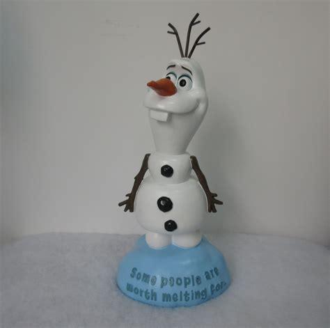 disney frozen 14 4 quot outdoor indoor olaf statue outdoor living outdoor decor lawn ornaments