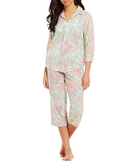 Patchwork Pajama - ralph patchwork paisley pajamas dillards