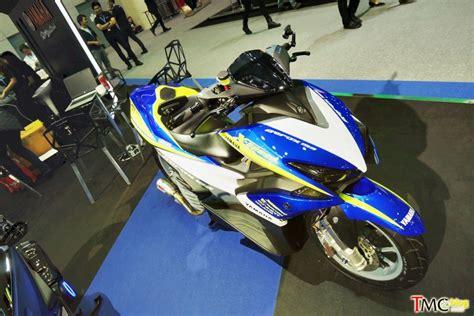 Modifikasi Aerox 155 by Modifikasi Yamaha Aerox 155 Suspensi Monoshock