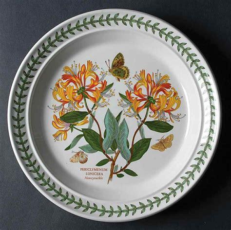 Portmeirion Botanic Garden Dinner Plate Portmeirion Botanic Garden Honeysuckle Dinner Plate S9938640g3 Ebay