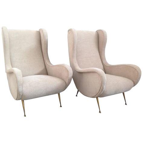 elegant armchairs elegant pair of armchairs marco zanuso style at 1stdibs
