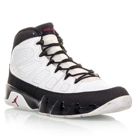basketball shoes 9 air 9 mens basketball shoes white black