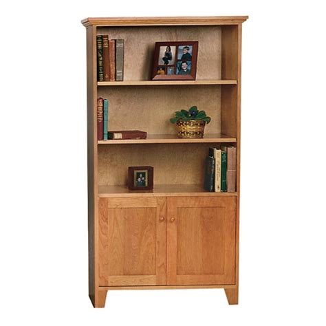 solid wood bookcase with doors solid wood custom bookcase cabinet wood panel doors
