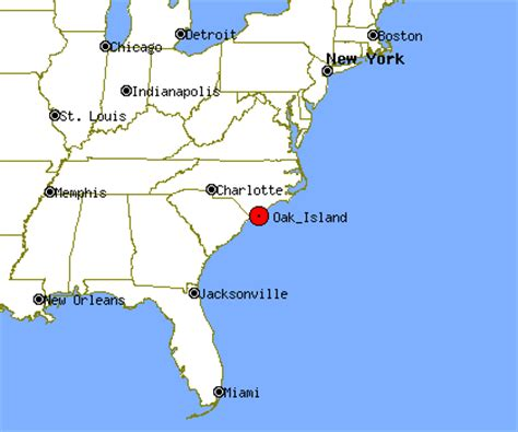 map of oak island carolina oak island nc population