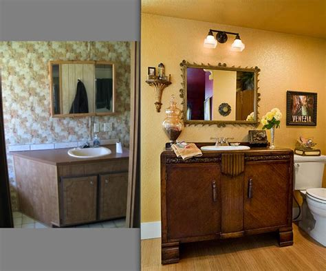 mobile home remodel before and after house furniture