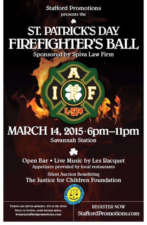 Tybee Joy VacationsSt. Patrick's Day Firefighter's Ball