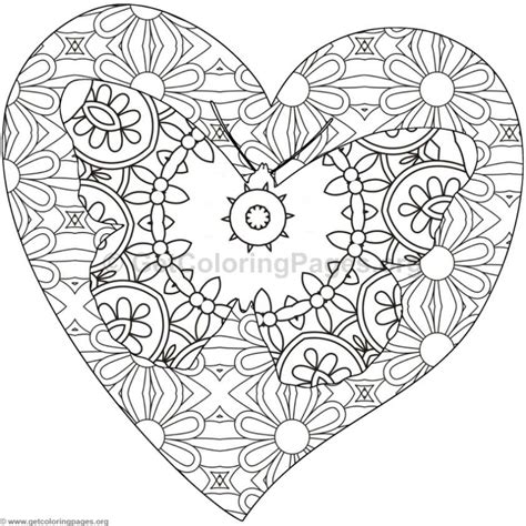 coloring pages of hearts and butterflies butterfly and heart coloring pages 9 getcoloringpages org