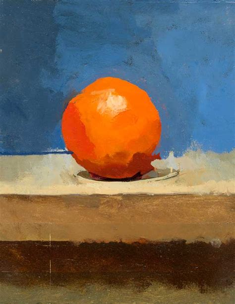 orange painting interview with robert dukes