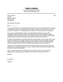 adminstration cover letter cover letters for administration administrative