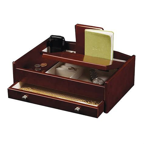 non desk that pay well wooden desk tidy with jewellery storage by jodie