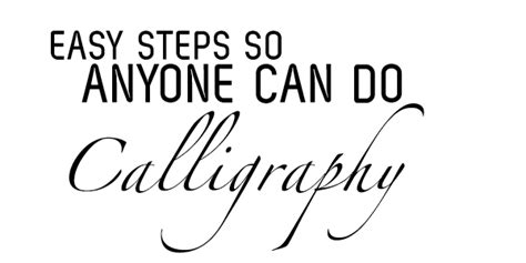 bloodlined calligraphy it can t all the time easy calligraphy anyone can do slide up