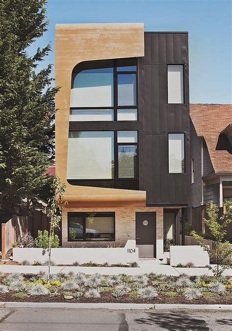 Multifamily Design by Green And Affordable Structure Fits Three Families In One