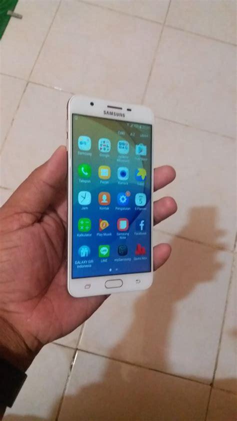 Hp Samsung J7 Bekas jual beli samsung j7 prime gold bekas handphone hp