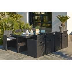 Beau Salon De Jardin Resine Tressee Leroy Merlin #1: salon-de-jardin-encastrable-resine-tressee-noir-1-table-8-fauteuils.jpg