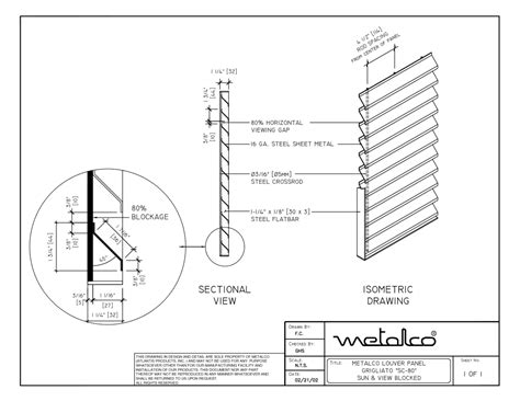 black section screen systems cad drawings metalco fence railing
