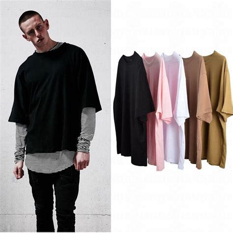 Stylish Oversized Shirts by Fashion Oversized T Shirt Cool Hip Hop Extended T