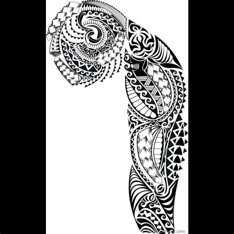 samoan sleeve tattoo drawing amazing tattoo