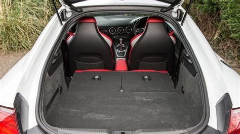 audi tt boot cover audi tt coupe practicality boot space carbuyer