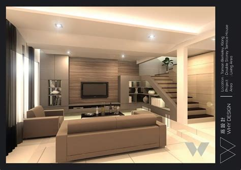 designing pictures an old terrace house design in living area at klang