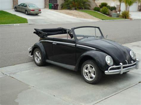 volkswagen convertible bug 1962 volkswagen beetle vw bug convertible