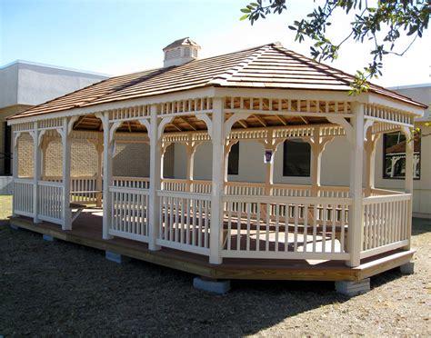 gazebo cupola vinyl single roof 8 sided oval gazebos gazebos by