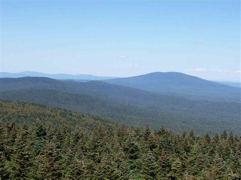 section 8 vt mm 12 2 view north from firetower on glastenbury mt the