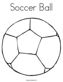 free a soccer ball coloring pages