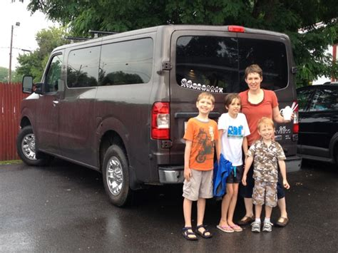 nissan family van big families deliver big kudos to nissan s nv3500