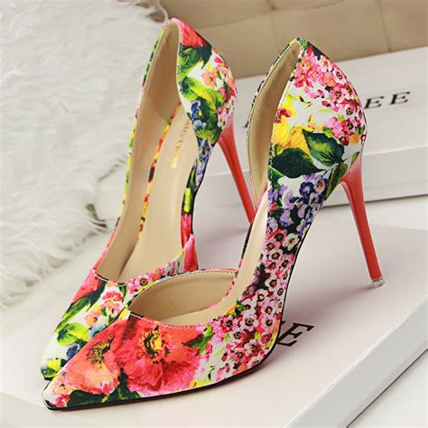 flower print high heels floral print high heels 28 images womens office west