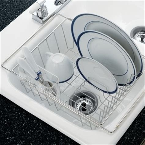 in sink dish rack stainless steel stainless steel in sink dish drainer for the home