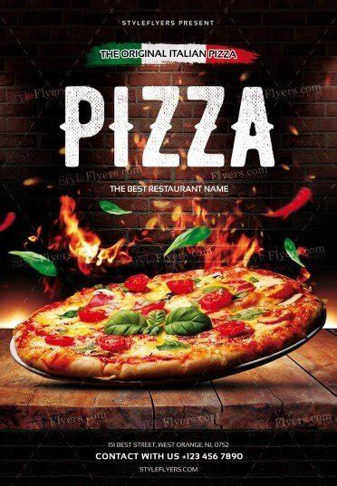 pizza sale flyer template pizza flyer psd template 22097 styleflyers