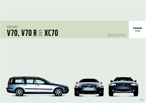 car service manuals pdf 2000 volvo v70 instrument cluster volvo v70 xc70 series owners manuals