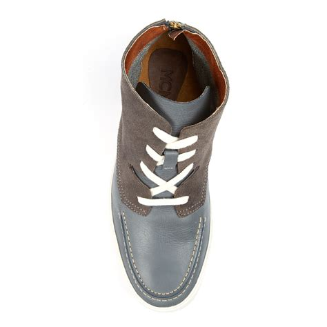 7 Best Shoe Clubs by Soho Leather Hi Top Shoe Grey Us 7 Mcndo Shoes