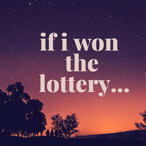 How To Win Some Money On The Lottery - if i won the lottery planes trains and running shoes