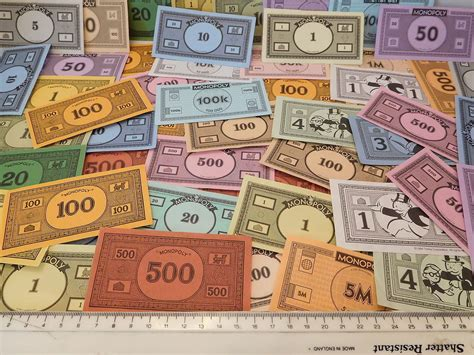 monopoly money colors monopoly money 50 money notes different styles spare