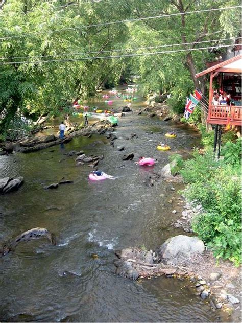Helen Cabin Rentals On The River by Helen Ga Tubing Cas And Memories On