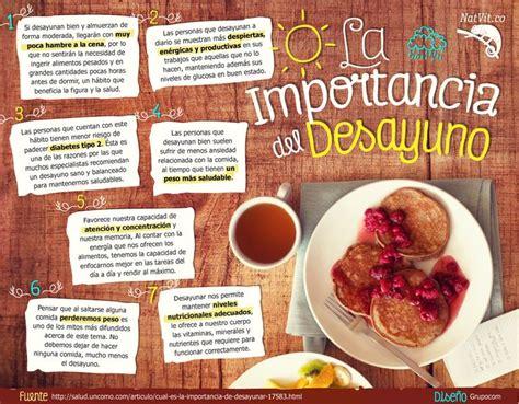 estilo de vida la importancia del desayuno la importancia del desayuno infograf 237 as y remedios