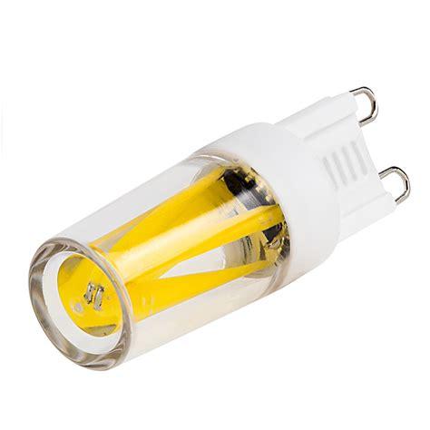 2 pin led light bulbs g9 led bulb 4 led 2 watt bi pin led filament bulb