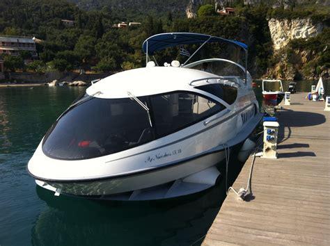 hydrofoil boat speed hydrofoil speed boat trip corfu wmv youtube