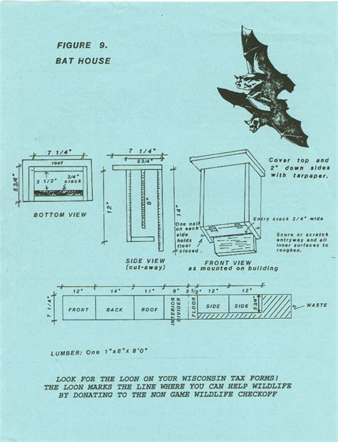 simple bat house plans kent wenger s home page