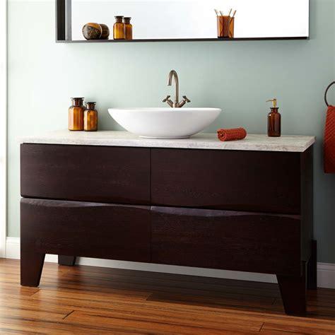 single vanity with vessel vessel vanities signature hardware