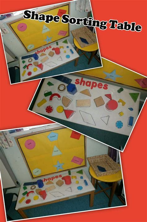 new year maths eyfs eyfs shape sorting table maths with and