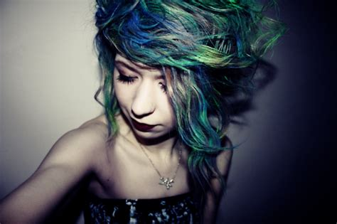 hair green blue trending tumblr