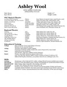 Performance Resume Exle by Wool Performance Resume Pdfsr
