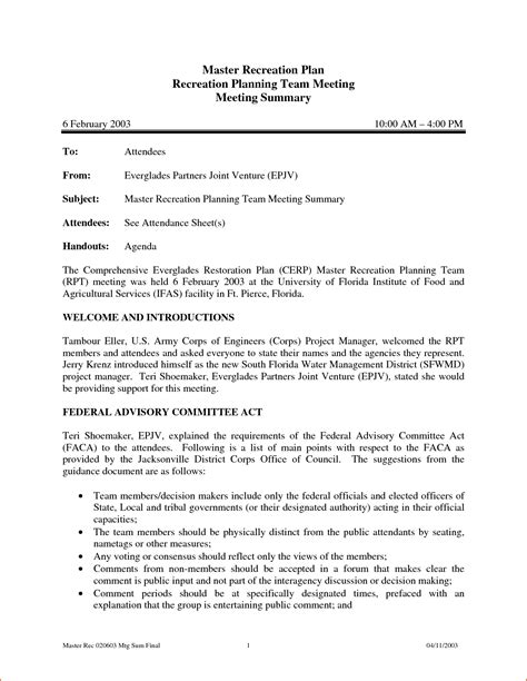 minute of meeting template doc 28 images 20 handy meeting
